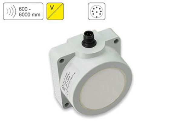 P49 Ultrasonic Sensor P49-600-Q50-U-CM12