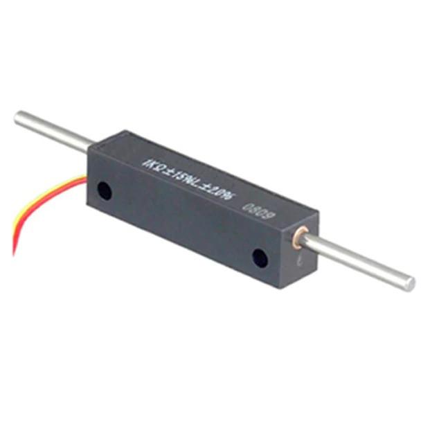 LMCR8 Series / Linear Motion Potentiometer w/Shaft Spring Return (Through Shaft)