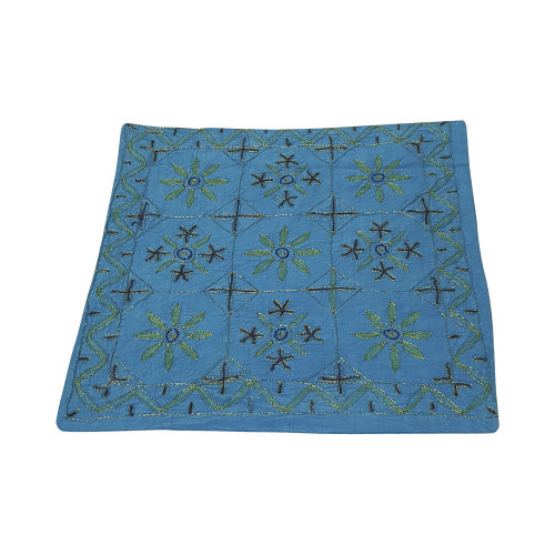TURQUOISE CUSHION COVERS