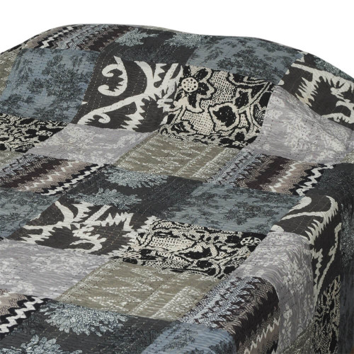 BED THROW  PATCH PRINT GUDARI 150X220CM