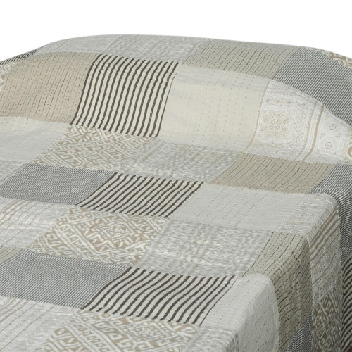 BED THROW  PATCH PRINT GUDARI 150X220CM 36