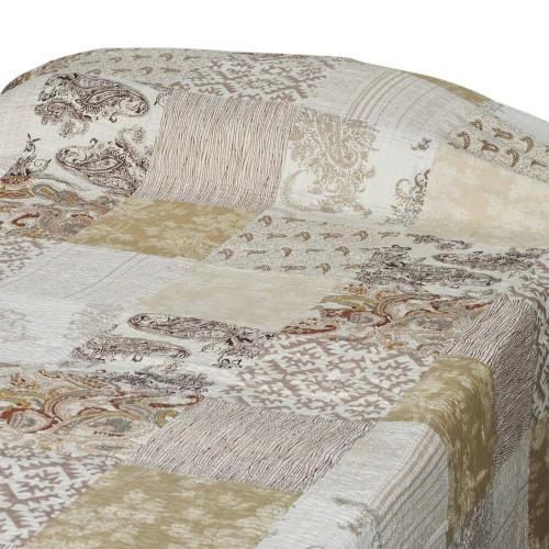 BED THROW  PATCH PRINT GUDARI 150X220CM 37
