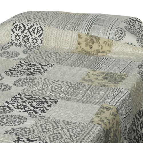 BED THROW PATCH PRINT GUDARI 150X220CM 35