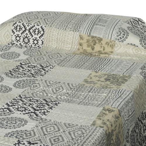 BED THROW PATCH PRINT GUDARI 150X220CM 35