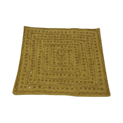MUSTARD CUSHION COVERS 54