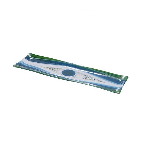 GREEN GARLIC PLATTER  - 40  X 10CM