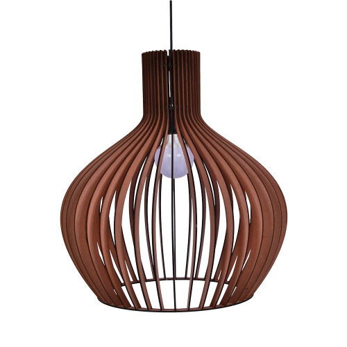 NATURAL HANGING LAMP ROUND - 54 X 54 X 58