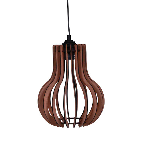 NATURAL HANGING LAMP ROUND - 35.5 X 35.5 X 46