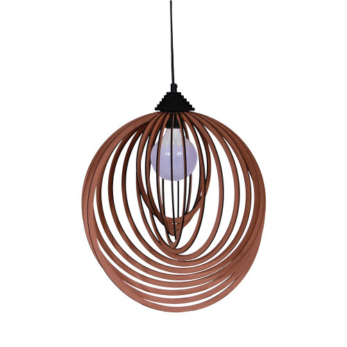 NATURAL SHELL SHAPE LAMP - 20 X 20 X 39