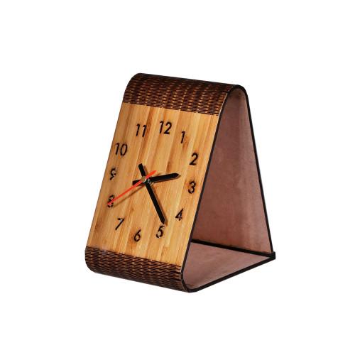 BAMBOO BEDSIDE CLOCK