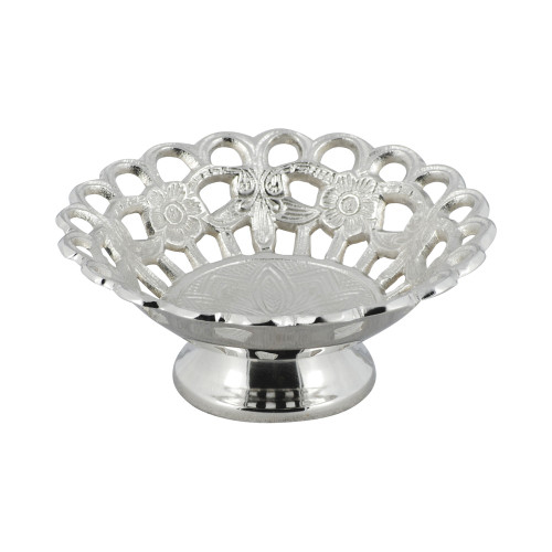 BOWL - ALUMINIUM 15.2 DIAMETER WITH HOLES