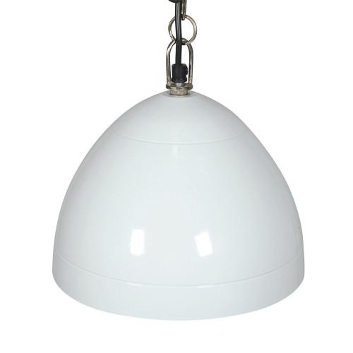 HANGING LAMP (24CM DIA) - 4 LINES - WHITE