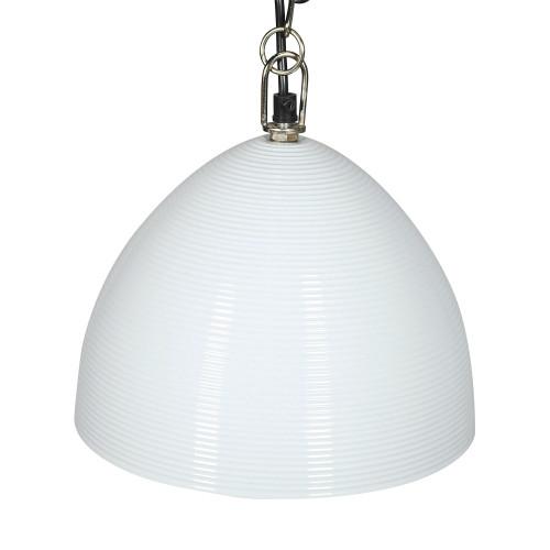 HANGING LAMP (24CM DIA) - HOLLOW - WHITE