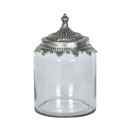JAR WITH METAL LID 1