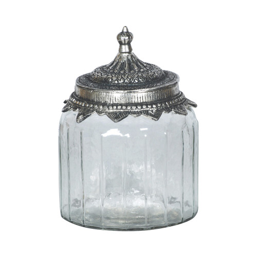 JAR WITH METAL LID 2