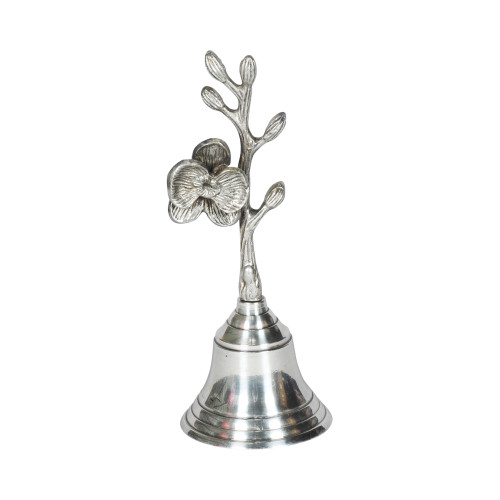 DECORATIVE BELL B/SILVER