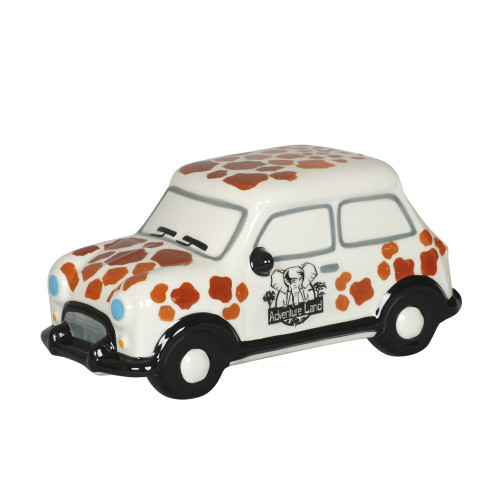 MONEY BOX - GIRAFFE ADVENTURE CAR