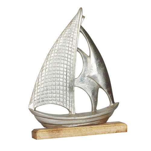 ALLU BOAT WITH WOODEN BASE
