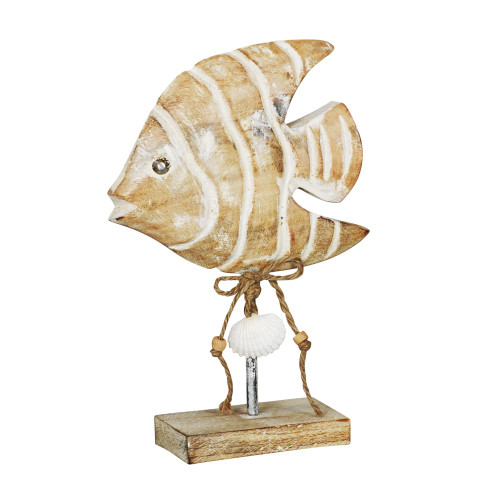 FISH ON ROD STAND