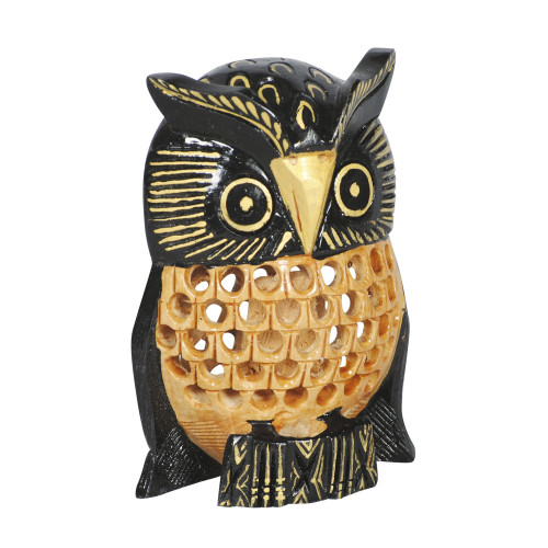 WOODEN UNDERCUT OWL 52