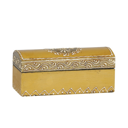 WOODEN BOX - PAINTED BEIGE 51