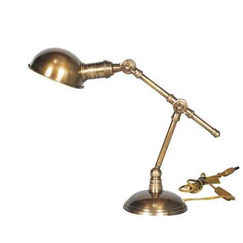 DESL LAMP, ANT. BRASS 6