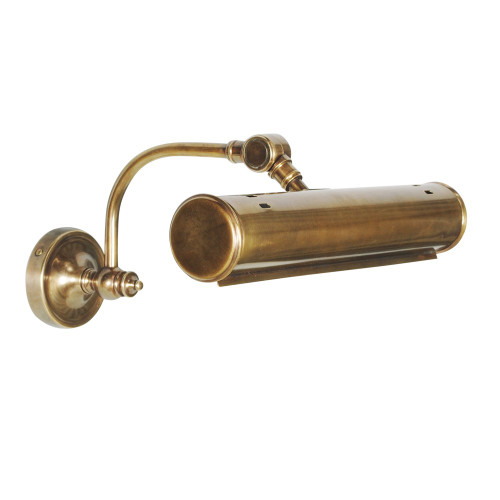 WALL LAMP, ANT. BRASS (2 X E14'S) 40