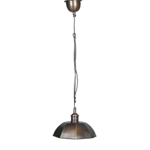 HANGING LAMP, ANT. DARK BRASS 69