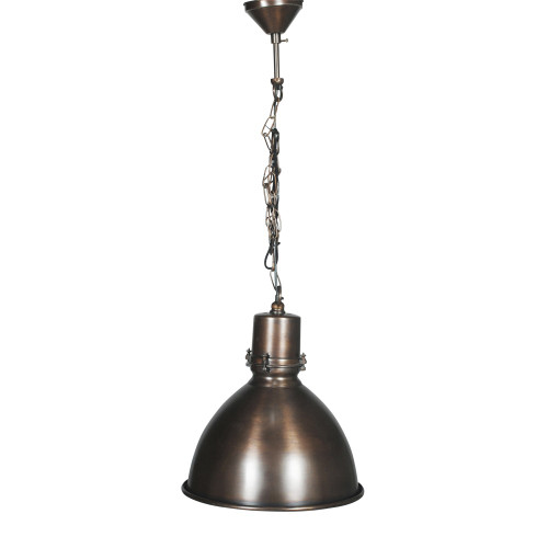 HANGING LAMP, ANT. DARK BRASS 11