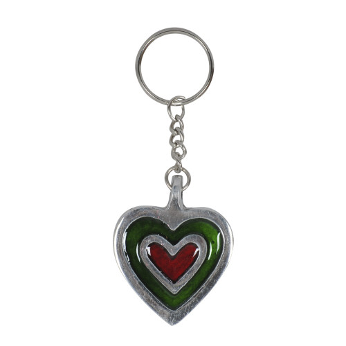 KEY RING HEART 9