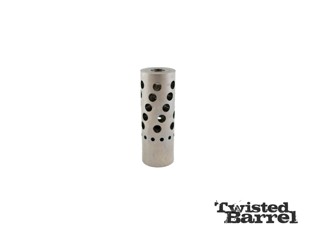 Twisted Barrel Stainless Muzzle Brake Red Hawk Rifles
