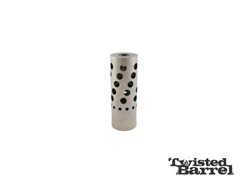 Hawkins Precision 2 Port Tank Muzzle Brake | Red Hawk Rifles
