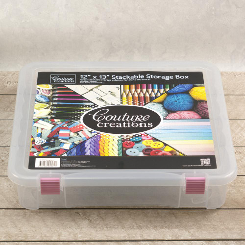 """Couture Creations - Stackable Storage Box 12 x 13"""""""
