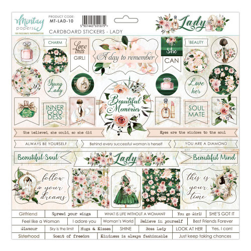 Mintay - Lady - Cardstock Stickers