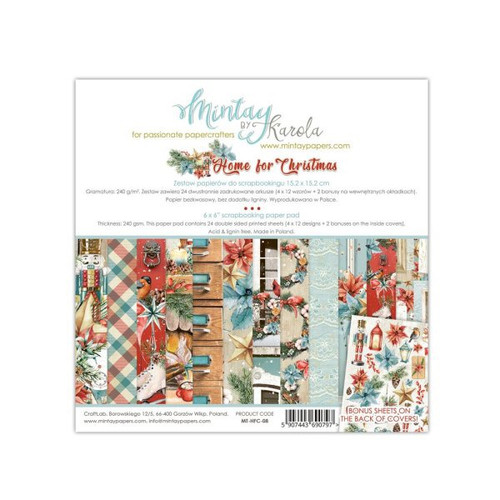 Mintay 'The Sweetest Christmas' 6 x 6 Paper Pad