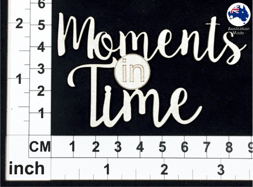 Scrapmatts - Chipboard - Moments in Time