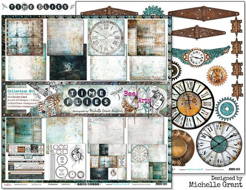Bee Arty - Time Flies - Collection Pack