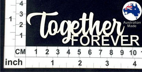 Scrapmatts - Chipboard - Together Forever