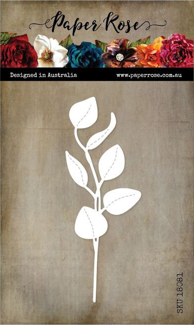 Paper Rose - Die - Stitched Eucalyptus
