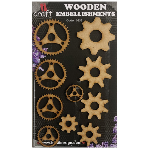 iCraft - Chipboard - Cogs 6 i353