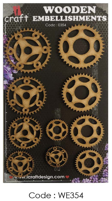 iCraft - Chipboard - Cogs 5 i354
