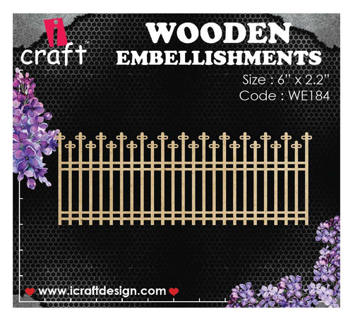 iCraft - Chipboard - Fence i184