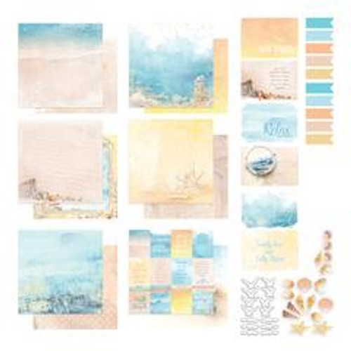 Couture Creations - Seaside Girl - 12 x 12 Collection Pack