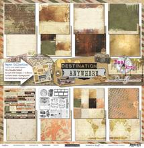 Bee Arty - Destination Anywhere - Collection Pack