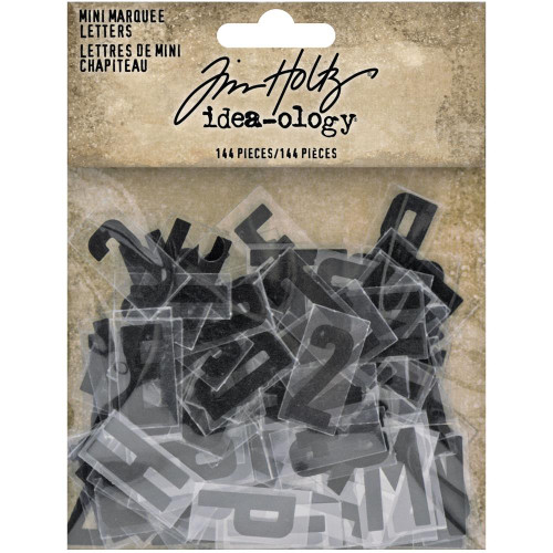 Tim Holtz Idea-ology - Mini Marquee Letters
