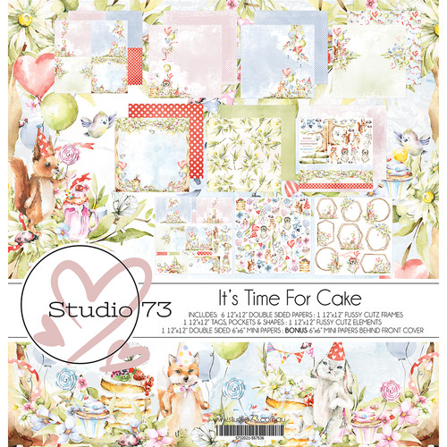 Studio 73 - It's Time for Cake - Collection Pack