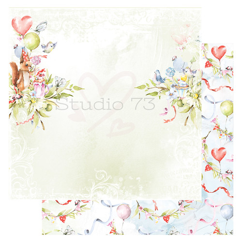 Studio 73 - It's Time for Cake - Birthday Wishes Paper