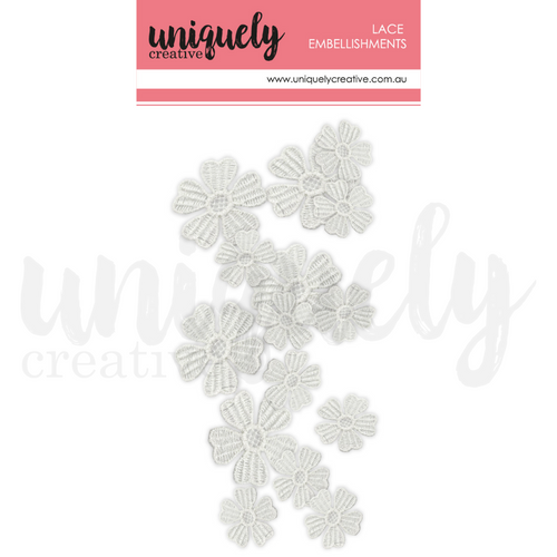 Uniquely Creative - Mixed Lace Flowers