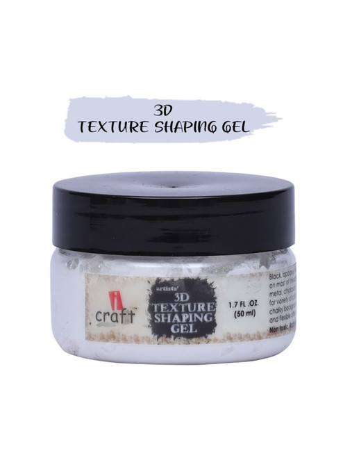 iCraft - 3D Texture Shaping Gel (Texture Paste) 50ml