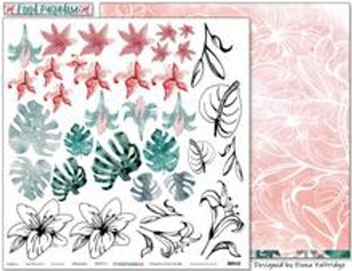 Colour Blast by Bee Arty - Find Paradise - Botanicals 12 x 12 Paper
